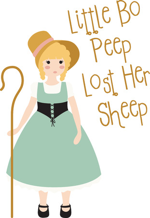 had: A nursery rhyme will make a great decoration in a childs room. Illustration