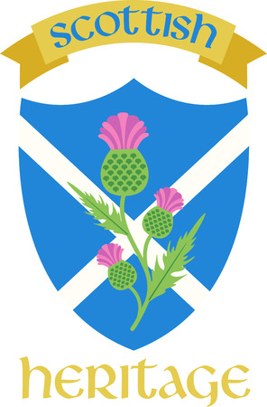 This beautiful Scottish theme is a beautiful image for your next design. 向量圖像