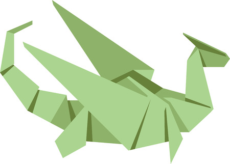 Celebrate the Chinese new year with an origami zodiac animal. 版權商用圖片 - 43916831
