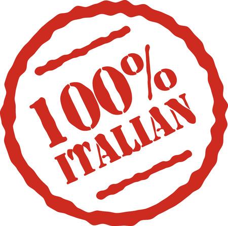 Sea orgulloso y comprar italiano hizo! Foto de archivo - 43916842