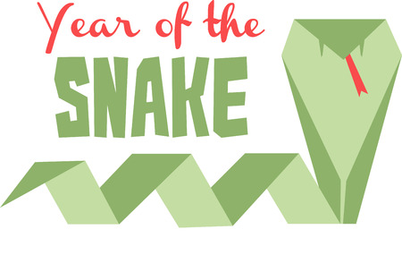 snake origami: Celebrate the Chinese new year with an origami zodiac animal.