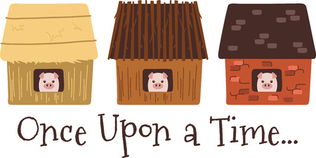 a straw: A nursery rhyme will make a great decoration in a childs room. Illustration