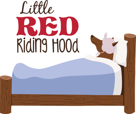 A nursery rhyme will make a great decoration in a childs room. Ilustracja