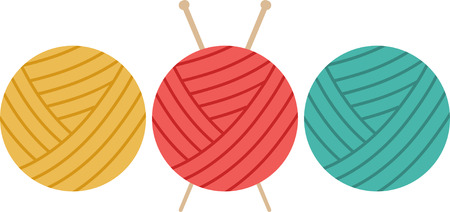 Knitters will love these colorful balls of yarn.