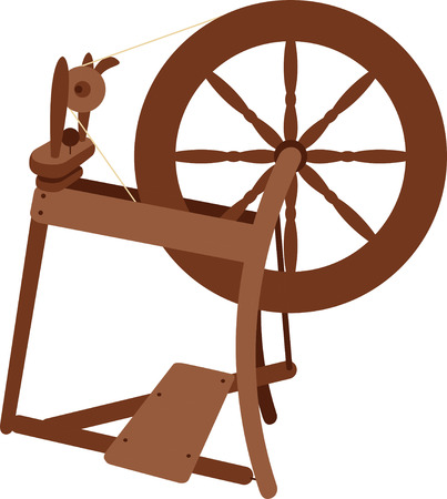 spinning: Show how you make your own yarn with a spinning wheel.
