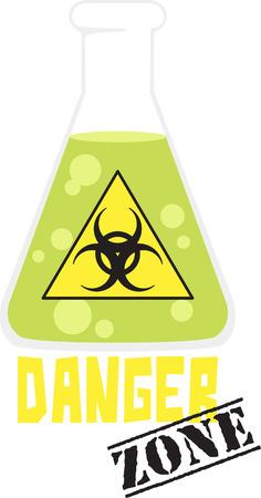 Als je van de wetenschap zult u van deze chemie beker.