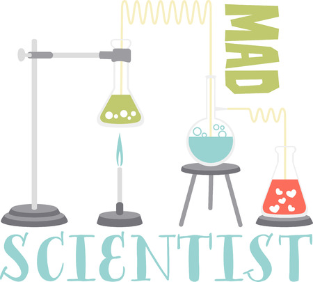 If you like science you will love this chemistry experiment. Ilustração