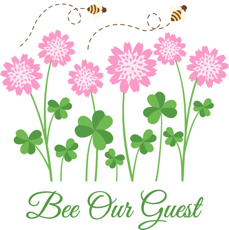 prairie: To make a beautiful prairie all it need to take a clover and one bee.