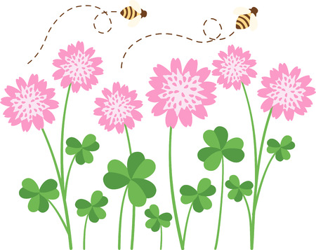 To make a beautiful prairie all it need to take a clover and one bee.