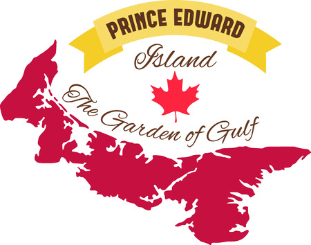 edward: Learn all you wanted to know about Prince Edward Island  Canada Map Maple leaf with pictures by Hopscotch!