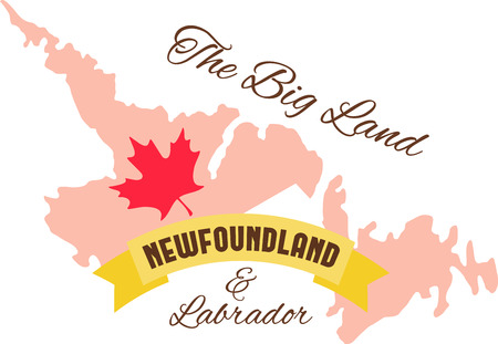 newfoundland: Learn all you wanted to know about Newfoundland  Canada Map Maple leaf with pictures by Hopscotch