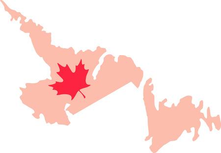 terranova: Scopri tutto quello che volevi sapere su Terranova Canada Mappa Foglia d'acero con le immagini di Hopscotch