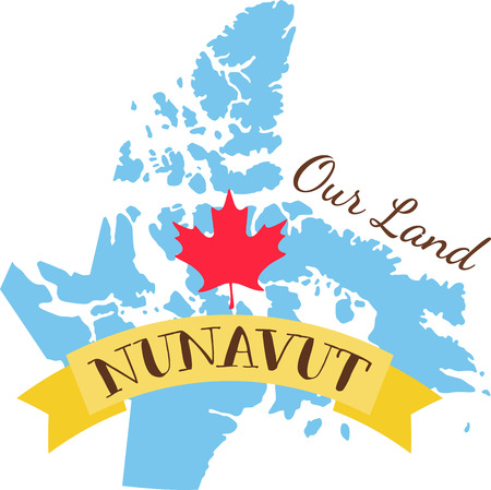 hopscotch: Learn all you wanted to know about Nunavut  Canada Map Maple leaf with pictures by Hopscotch!