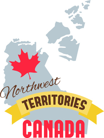 Learn all you wanted to know about Northwest Territories Canada Map Maple leaf with pictures by Hopscotch!