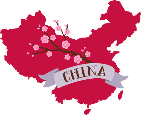 about you: Learn all you wanted to know about China with the floral blossom image by Hopscotch!v