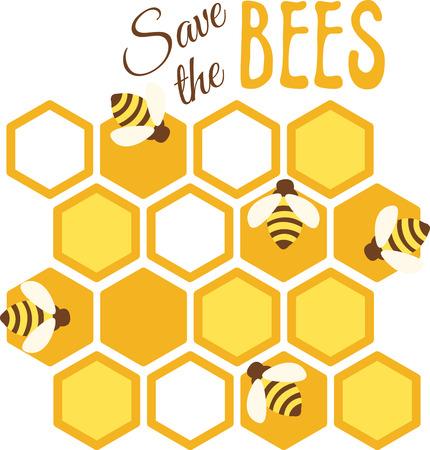 """""""De aarde is een Bijenkorf, we allemaal in te voeren door dezelfde deur, maar leven in verschillende cellen."""" Stock Illustratie"""
