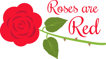 loved: Red Roses are god gift given to express our Love towards loved one. Illustration