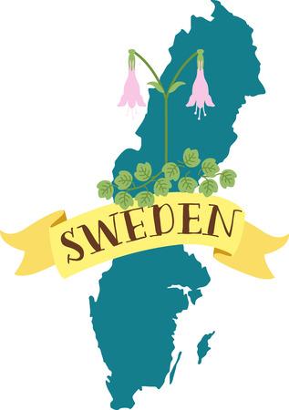 나는 꽤 많은 세계를 보았지만, 나는 스웨덴을 정말 좋아하고 언젠가 거기에서 살 수있는 것처럼 느낀다. 일러스트