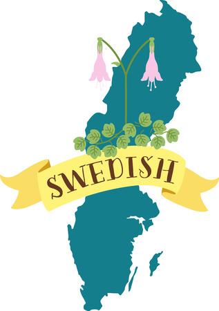 世界のかなりのビットを見てきましたが、本当にスウェーデン、いくつかの日に住むことができるような感じ好きです。  イラスト・ベクター素材