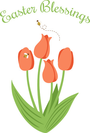 This beautiful tulip image is perfect for your spring design.