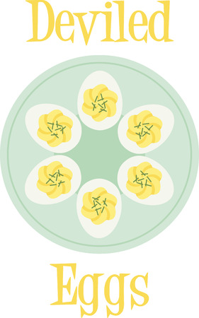 boiled: Deviled eggs are perfect for the Easter meal.