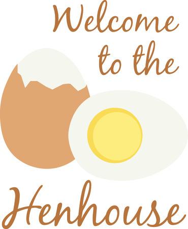 おいしい卵は、偉大なタンパク質に朝食の食べ物です。  イラスト・ベクター素材