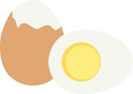 Oeufs délicieux sont un excellent petit-déjeuner de la protéine alimentaire. Banque d'images - 43917465