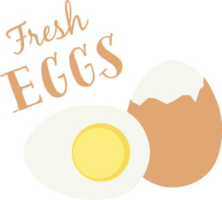 Oeufs délicieux sont un excellent petit-déjeuner de la protéine alimentaire. Banque d'images - 43917473