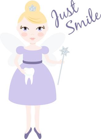 sprite: An pretty fairy will welcome in winter.