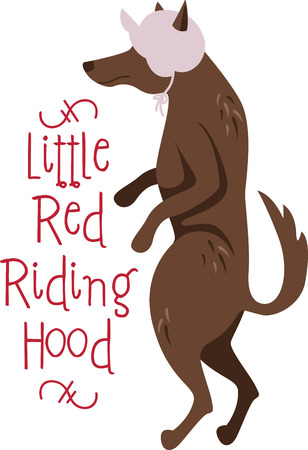 A nursery rhyme will make a great decoration in a childs room. Illustration