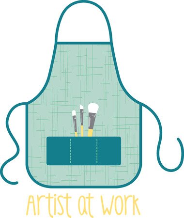 pinafore: A craft apron for all your craft activities!