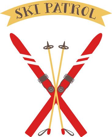 이 스노우 스키 폴을 사용하여 활발한 스키 경험을하십시오!