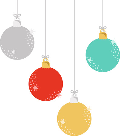 christmas decor: Ornaments are a wonderful holiday decoration.