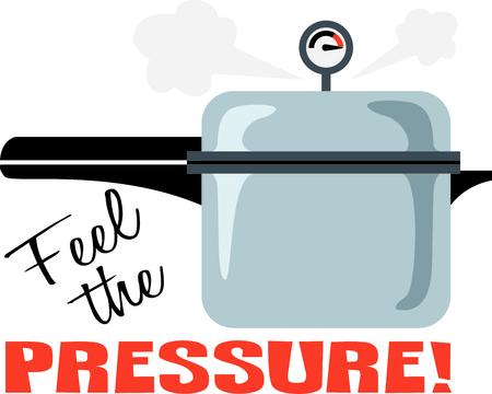 Perfect voor een chef-kok gebruik deze snelkookpan op uw project.