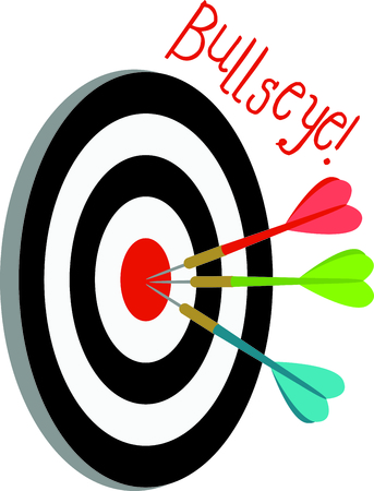 Youve hit the bullseye using this darts game in your project.