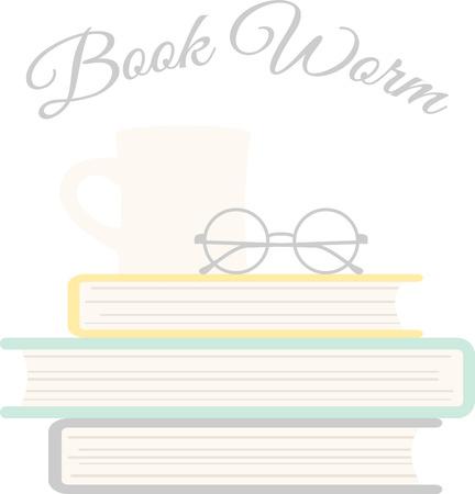 suspens: Trouver le parfait m�lange de suspense et d'aventure et d�tendez-vous avec une tasse de th� avec cette conception sur un projet pour votre rat de biblioth�que. Illustration