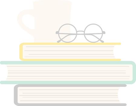 suspenso: Encuentra la combinación perfecta de suspense y la aventura y acurrucarse con una taza de té con este diseño en un proyecto para su ratón de biblioteca. Vectores