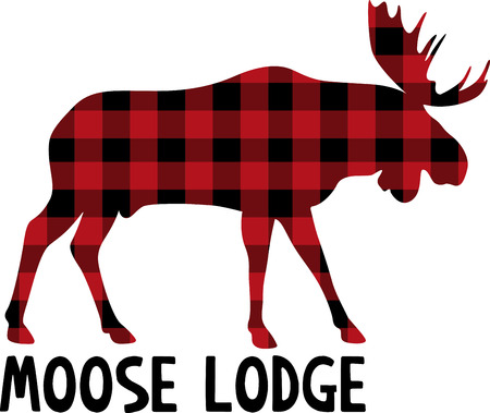Experience some of the best wildlife in the Canadian Rockies with this design on your home decor projects. Ilustração