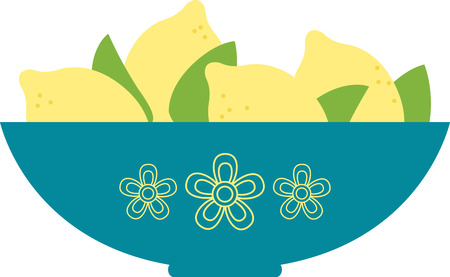 adds: This vibrant spice adds zing to everything from cakes to cocktails! Let the sun ripe lemons lift your spirit.  This design is perfect on your home decor projects. Illustration