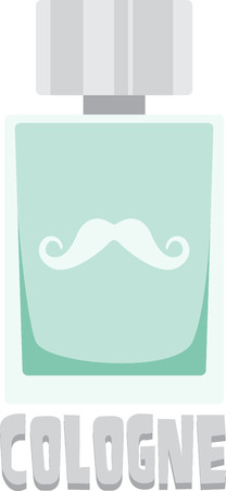 Just splash some on before heading out into the world and stay smelling fresh!  Use this design on a fun project for your loved ones.