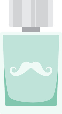 eau de toilette: Just splash some on before heading out into the world and stay smelling fresh!  Use this design on a fun project for your loved ones.