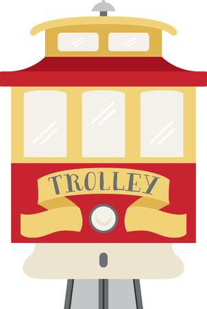 san: Go sightseeing on a trolley car in San Francisco.