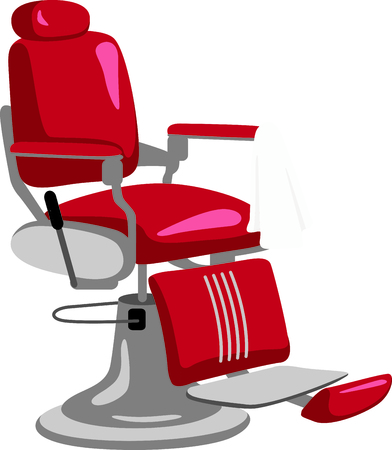 barber: This classic barber chair is a must for barber towels and smocks.  It stitches out beautifully onto smocks and towels.