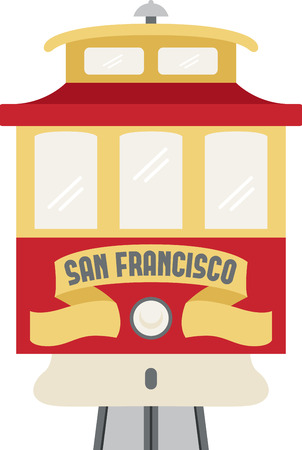 Go sightseeing on a trolley car in San Francisco.