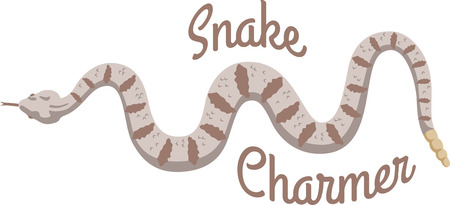 rattlesnake: Decorate a nursery with happy animals.