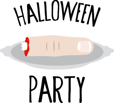 severed: Decorate for Halloween with a spooky severed finger.