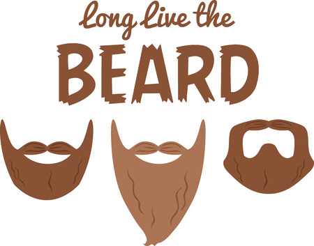 Take these communicative powers of facial hair to the next level.  A great design on a project for the macho men.