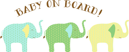 dcor: Colorful animals are great dcor for a nursery.
