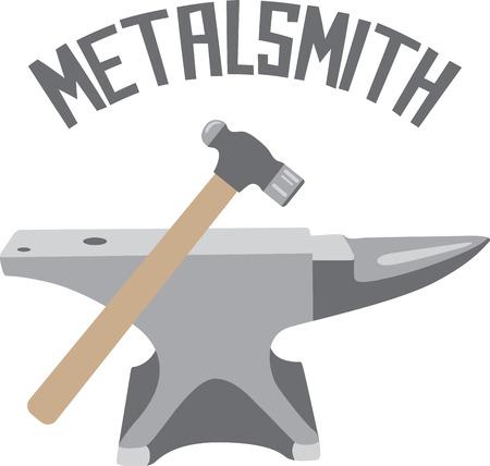 Handwerker wird als Logo auf einem Schutzblech für ihre Arbeit gerne einige Werkzeuge. Standard-Bild - 43918378