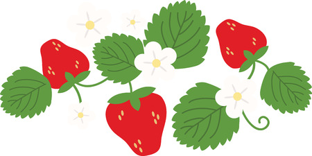 Little screams summer quite like the sweet scent and ripe taste of fresh, plump strawberries.  Enjoy the harvest with this design on kitchen linen and tablecloth!